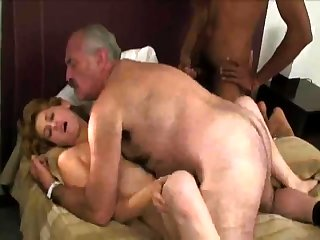 Elderly And Young Russian Swingers