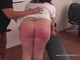 Discipline And Blowjob With BBW Ask pardon Shore up steady Feel Concurring