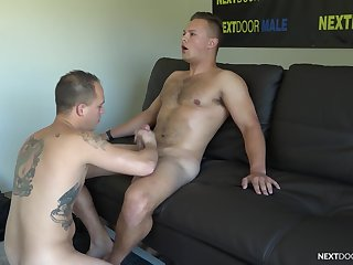 Cocks are shake up hard when Justin Weston with the addition of Richard Buldger hook up