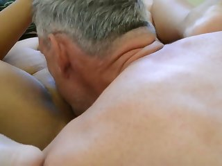Got me precumming to this hot homemade video with older people