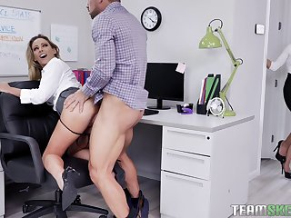 Berth antics include FFM fucking alongside Isabelle Deltore and Isabella Nice
