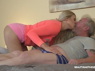 Young blondie Diane Chrystall is fucked overwrought ugly pauperize