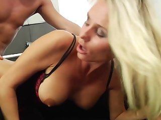 Laura Crystal has her ass phony with