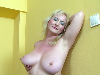 Mature amateur Monika Wipper wanted anal sex with a Stygian dick