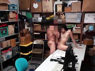 Guy caught jerking shower Suspect was seen on CCTV camera