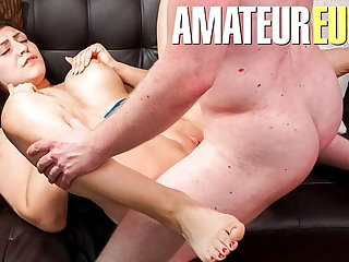 AmateurEuro - POV Hot Sex With BBW German Teen July Johnson
