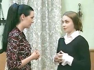 Wonderful lesbians in retro movie