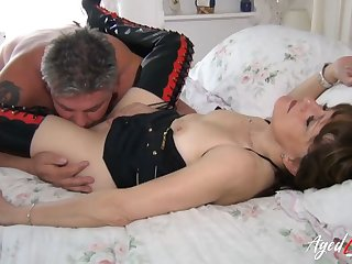 AgedLovE Sensual Session with Lubricous Mature Young gentleman