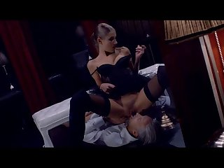 Fetish sex with a sensual mart